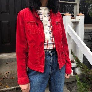 Vintage o ring corduroy jacket